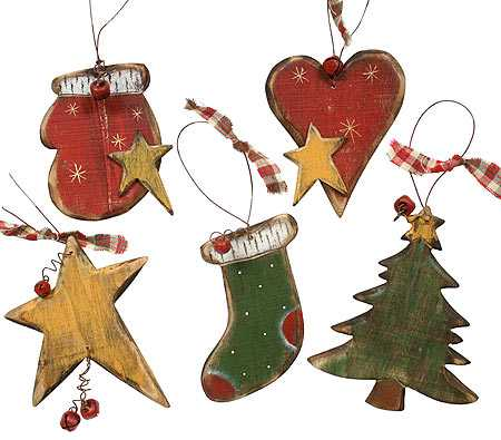 primitive wooden christmas holiday ornament christmas ornaments christmas and winter. Black Bedroom Furniture Sets. Home Design Ideas