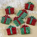 Dress It Up Holiday Collection Small Glitter Presents