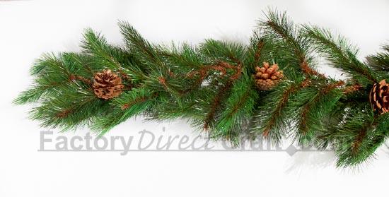 6 Foot Artificial Pine Garland Christmas Garlands