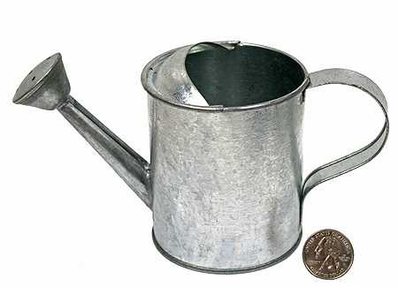 Galvanized metal watering can floral containers floral supplies craft supplies - Sprinkling cans ...
