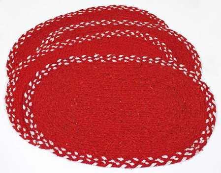 and Christmas placemats  Placemats  table Table Runners and Woven  runners Red Placemats and red White