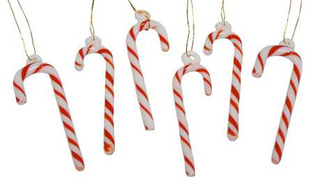 Candy Cane Christmas Decorations