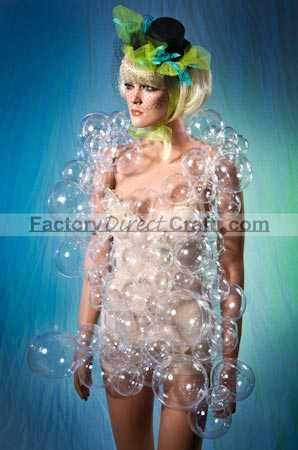 lady gaga bubble dress acrylic ornament costume kit