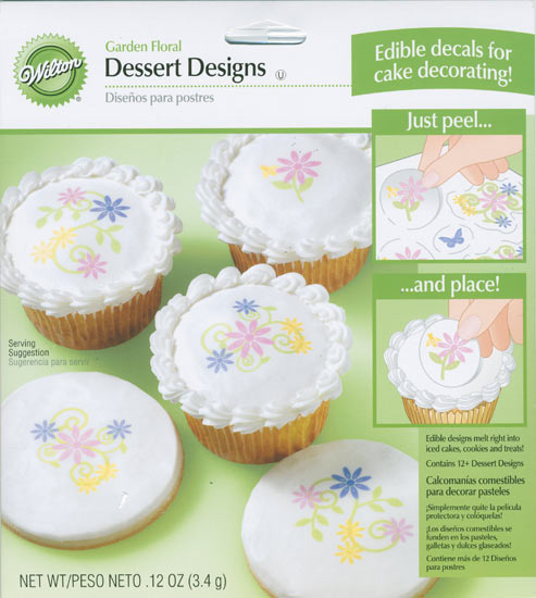 edible wedding cake decals garden floral edible decals for cake decorating bridal 13917