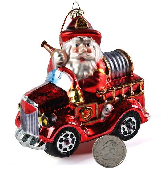 Fireman Christmas Ornaments