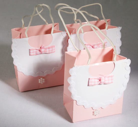 baby shower favor bag package of 12 these cute baby bib bags are the
