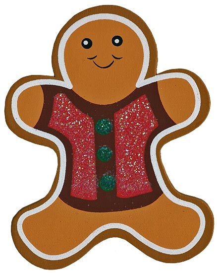 Gingerbread Man Cut Outs | New Calendar Template Site