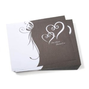 Two hearts become one wedding program paper wedding invitations two hearts become one wedding program paper junglespirit Image collections