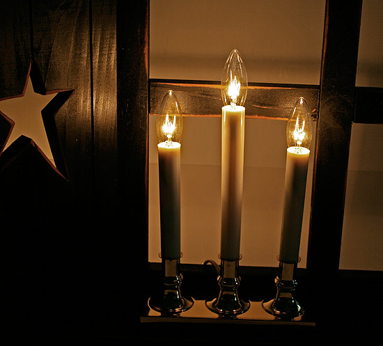 Christmas Window Candles Electric