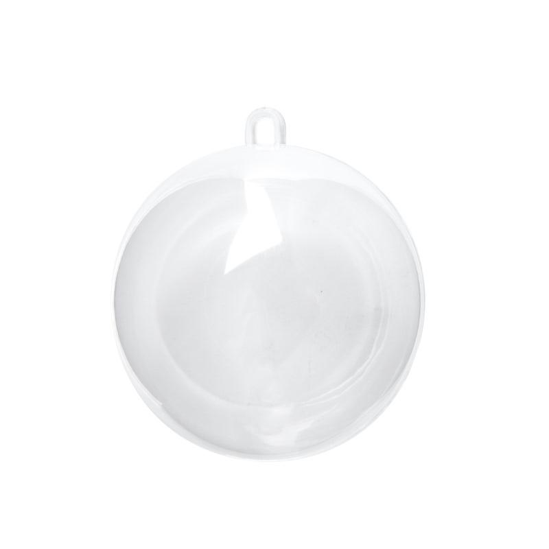 Bulk 80mm Fillable Keepsake Ball Ornaments  Acrylic Fillable