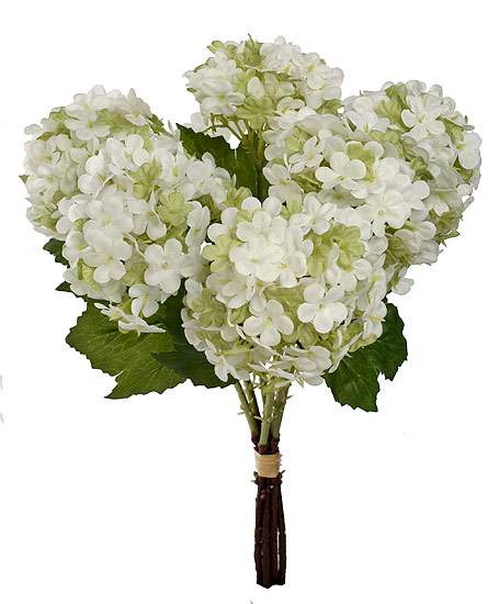 12 12 White Snowball Floral Bouquet Bushes And Bouquets Floral