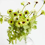 Apple Green Artificial Daisy Bush