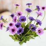 Orchid Purple Artificial Daisy Bush