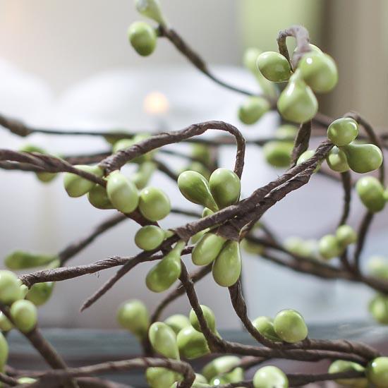 Apple Green Pip Berry Garland Pip Berries Primitive Decor