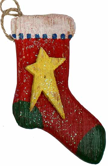Wooden Stocking 17