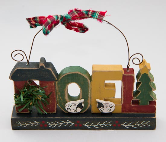 Primitive Christmas Wall Decor : Primitive wooden quot noel wall decor christmas and holiday
