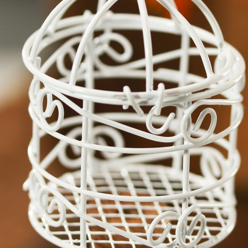 Vintage Style Set Of Bird Cages Wedding Card Holder Bird Cages Wedding