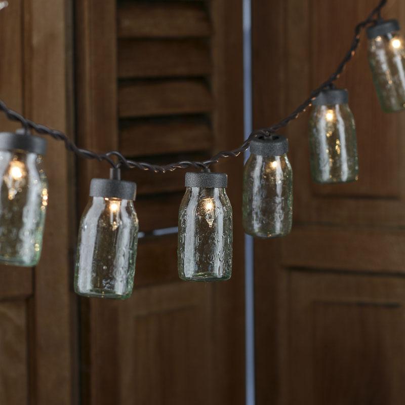 Small Glass Mason Jar Light Covers - Lighting - Christmas and Winter - Holiday Crafts