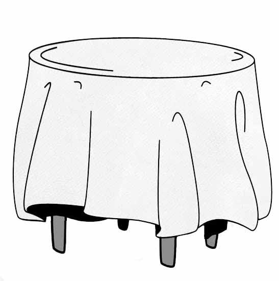 120 round cloth look table cloth table cover for 120 round table cover