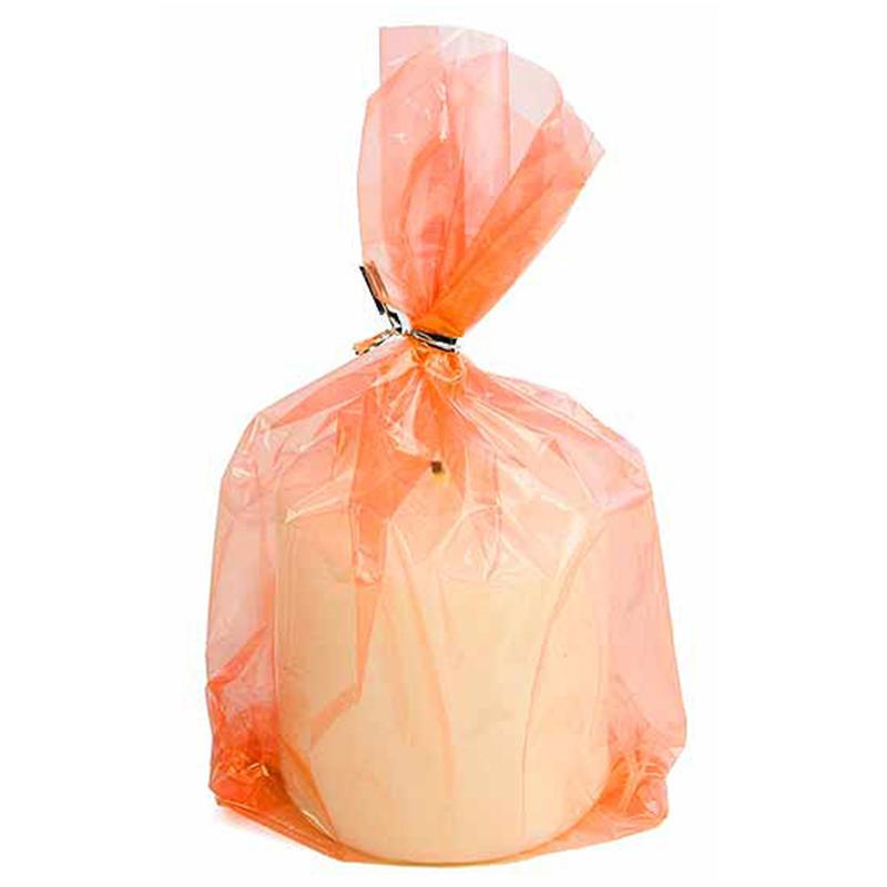 Translucent Orange Cellophane Bags Bags Basic Craft Supplies