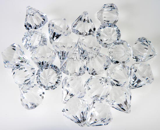 Crystal Acrylic Diamonds Vase Fillers Table Scatters Floral