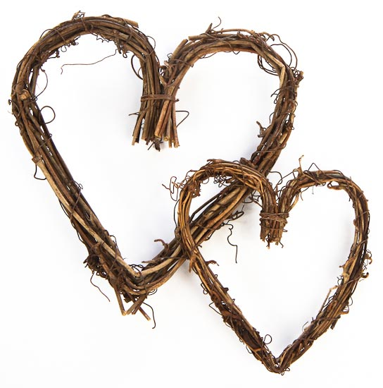 Grapevine Heart Wreath For Crafts