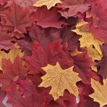Assorted Artificial Maple Leaves