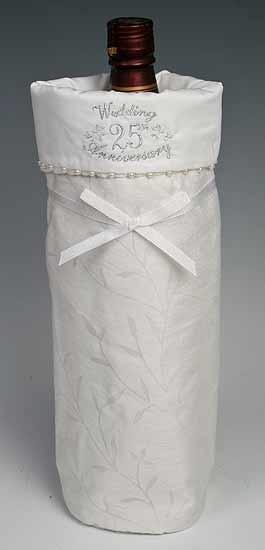 Promises 25th Wedding Anniversary Wine Gift Bag - Anniversary - 25th ...