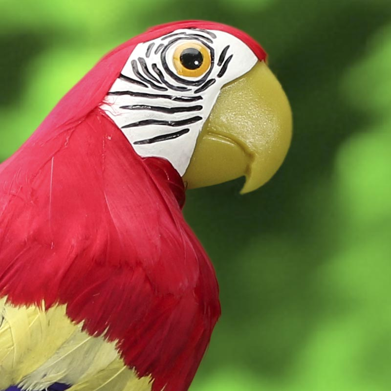 """27"""" Artificial Tropical Red Feather Macaw - Birds ..."""