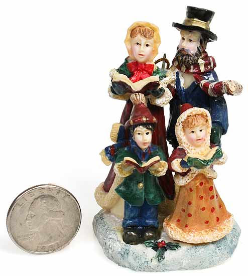 Victorian Christmas Carolers Figurines: Christmas Caroler Decorations