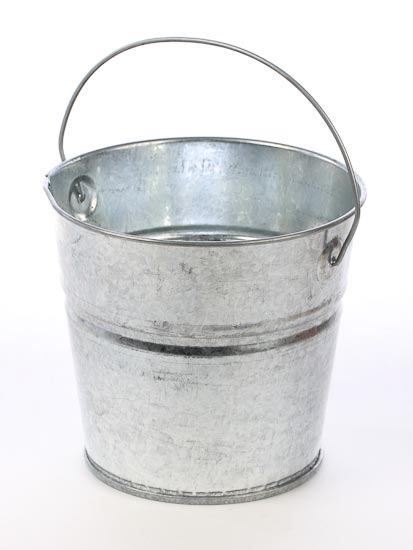 5 12 Tall Galvanized Bucket New Items