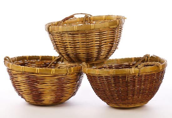 Unique Wicker Hanging Basket - Baskets, Buckets, & Boxes - Home Decor RT42