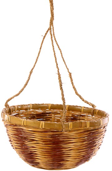 Attractive Wicker Hanging Basket - Baskets, Buckets, & Boxes - Home Decor QW04