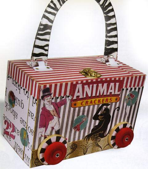 Cigar box purses book craft books craft supplies for Cigar boxes for crafts