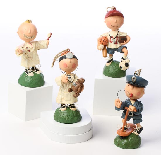 Medical Themed Christmas Ornaments : Pint sized professionals boy doctor ornament christmas
