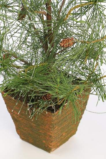 Potted Wispy Artificial Pine Tree Trees Floral