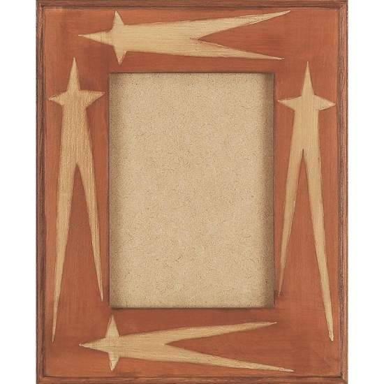 Family Tabletop Primitive Picture Frames - m