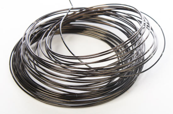 20 Gauge Gun Metal Gray Copper Craft Wire 8 yard coil Wire Rope
