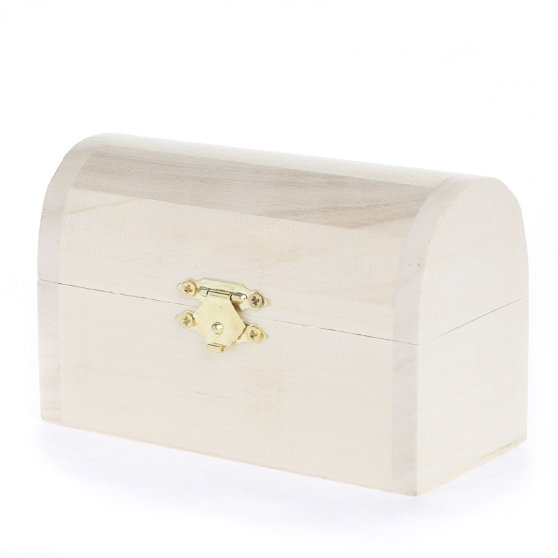 Unfinished Wood Treasure Chest ~ Pdf treasure chest wood plans free