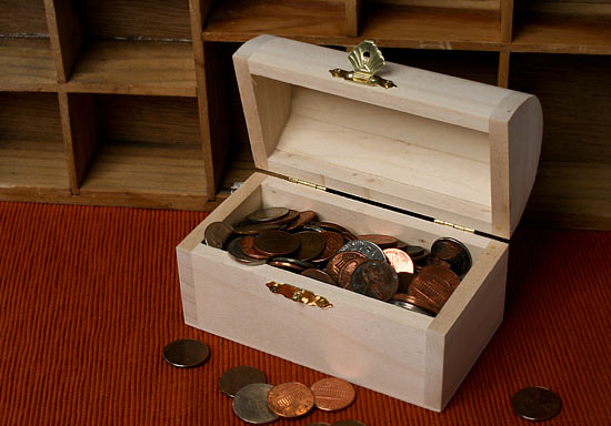 Diy Wood Deck Cleaner Wood Treasure Chest Craft Fine