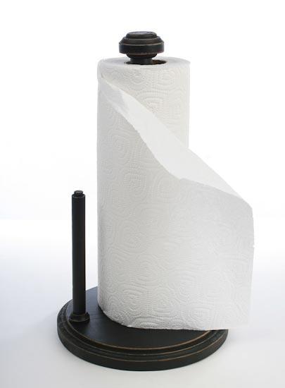 Primitive Black Paper Towel Holder Cp Bo Misc
