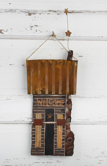 Primitive rusty welcome cabin primitive sale sales for Primitive cabins for sale