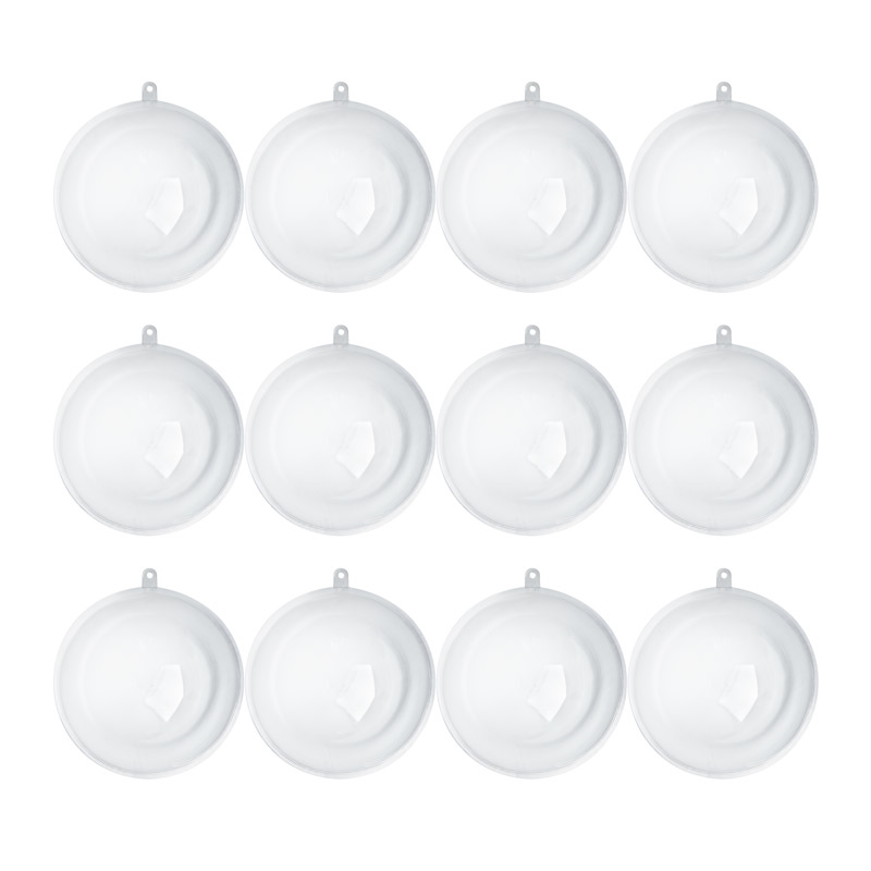 110mm clear acrylic fillable ball ornaments acrylic