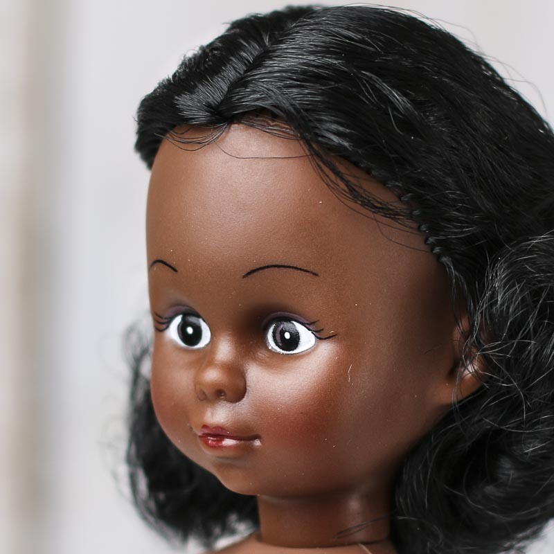 African American: African American Bath Tissue Cover Doll