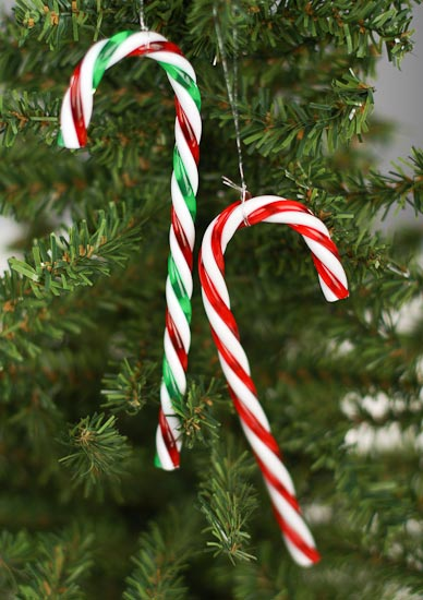 twist plastic candy canes
