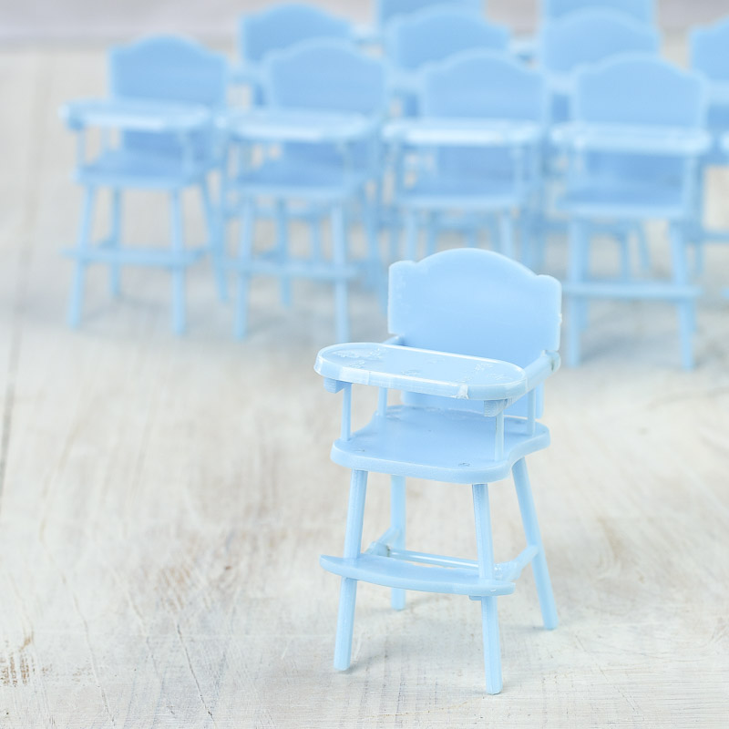 blue baby high chair shower favors what 39 s new dollhouse miniatures