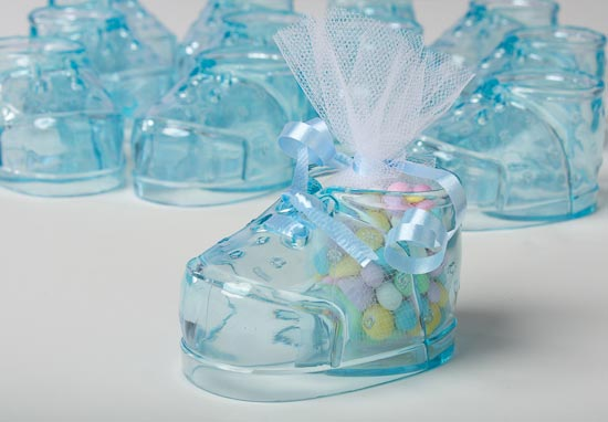 blue baby bootie baby shower favors 12 pieces pictures to pin on