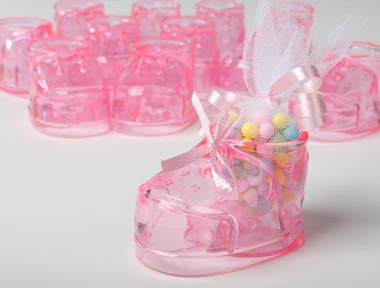 Plastic Baby Shoe Favors