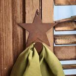 Primitive Rusty Tin Star Hanger