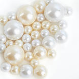 Assorted Ivory and White Faux Pearls